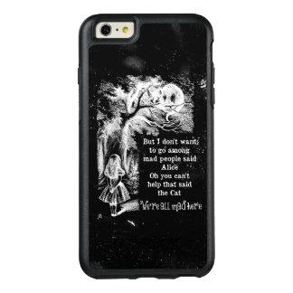Alice in Wonderland; Cheshire Cat with Alice OtterBox iPhone 6/6s Plus Case