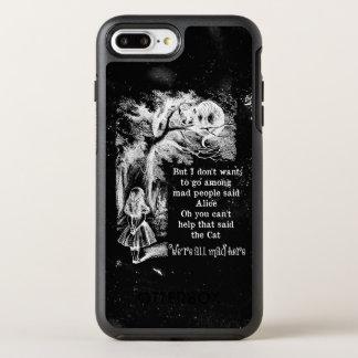 Alice in Wonderland; Cheshire Cat with Alice OtterBox Symmetry iPhone 8 Plus/7 Plus Case