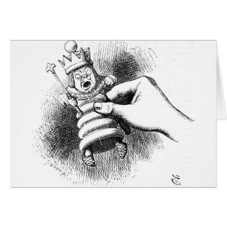 Alice In Wonderland Chessman Card