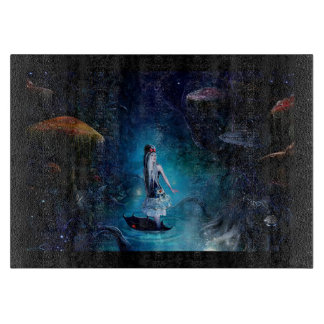 Alice in Wonderland Chopping Board