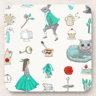 Alice in wonderland coaster