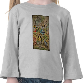 Alice in Wonderland Cover Tee Shirts