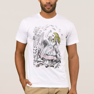 Alice in Wonderland Deck of Cards T-Shirt
