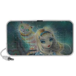 Alice in Wonderland Doodle Speaker