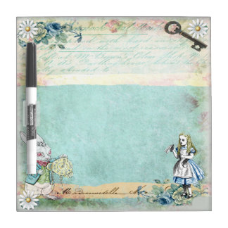 Alice in Wonderland Dry Erase Board