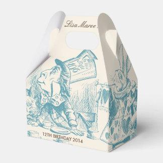Alice in Wonderland - Favor Box Favour Boxes