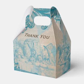 Alice in Wonderland - Favor Box Wedding Favour Box
