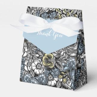 Alice in Wonderland Floral Favor Box Favour Boxes