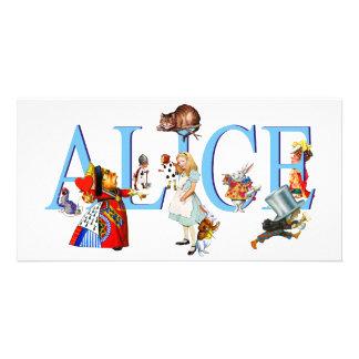 ALICE IN WONDERLAND & FRIENDS PHOTO CARDS