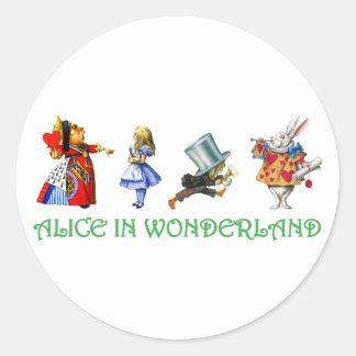 ALICE IN WONDERLAND & FRIENDS STICKERS