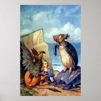 Alice in Wonderland Full Color Poster