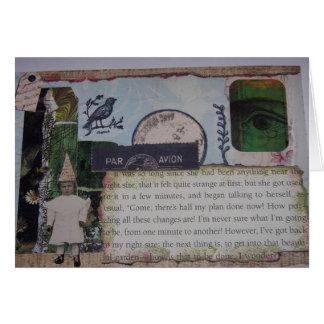 Alice in Wonderland Garden Party Card
