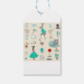 Alice in wonderland gift tags