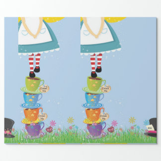 Alice in Wonderland Gift Wrap