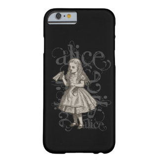 Alice In Wonderland Grunge Barely There iPhone 6 Case