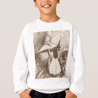 Alice in Wonderland, Hookah Smoking Caterpillar Sweatshirt