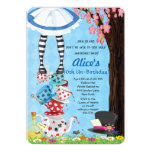 "Alice in Wonderland Invitations 5"" X 7"" Invitation Card"