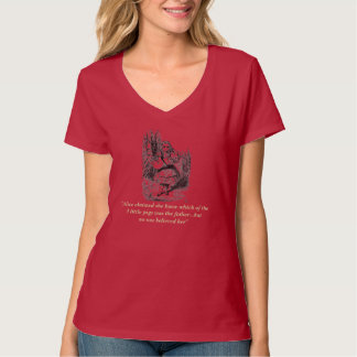 Alice (In Wonderland) Ironic Parody T-Shirt