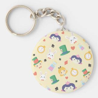 Alice in Wonderland Key Ring