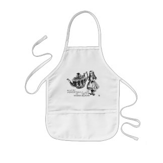 Alice in Wonderland Kids Apron