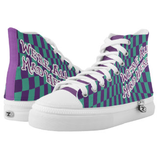 Alice In Wonderland - Mad Hatter High Top Shoes