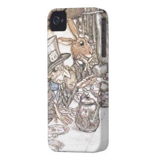 Alice in Wonderland - Mad hatter iPhone 4 Case-Mate Case