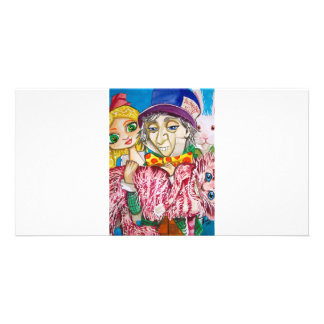 ALICE IN WONDERLAND MAD HATTER PHOTO GREETING CARD