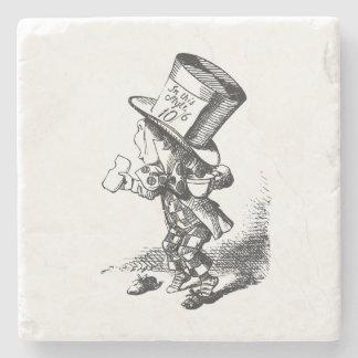 Alice in Wonderland Mad Hatter Stone Coaster