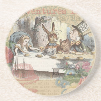 Alice in Wonderland Mad Tea Party Coasters