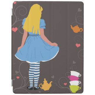 Alice in Wonderland mad tea party iPad cover