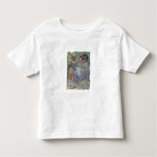 Alice in Wonderland meets Cheshire Cat Toddler T-Shirt