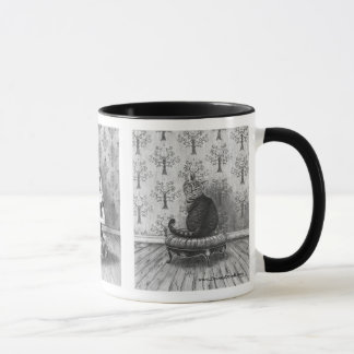 Alice in Wonderland Mug Mad Hatter Cheshire Cat