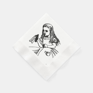 Alice in Wonderland Napkins Paper Napkins