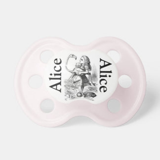 Alice in Wonderland Pacifier Girls