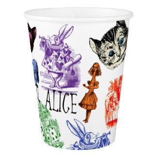 Alice in Wonderland Paper Cup