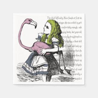 Alice in Wonderland Paper Napkin