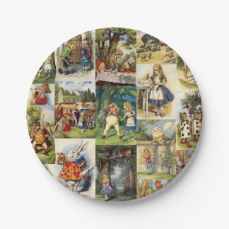 Alice in Wonderland Paper Plate