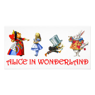 ALICE IN WONDERLAND PICTURE CARD