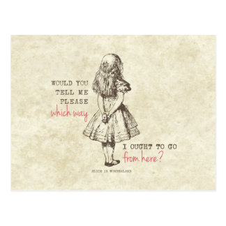 Alice in Wonderland Post Cards