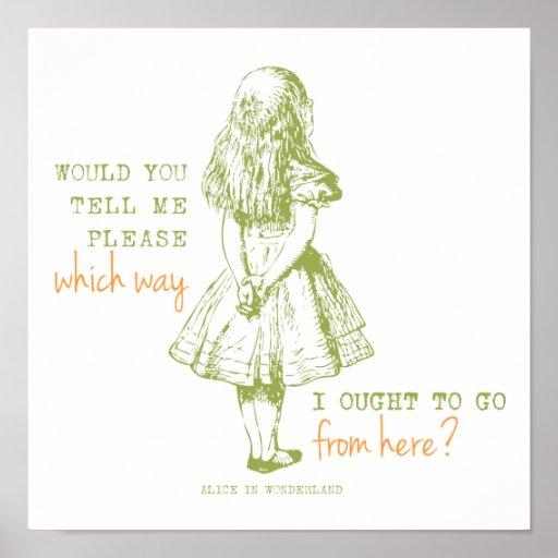 Alice in Wonderland Poster