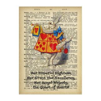 Alice in Wonderland Rabbit Acrylic Wall Art