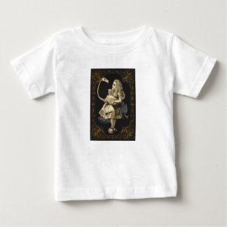 Alice in Wonderland Shirt Alice and Flamingo