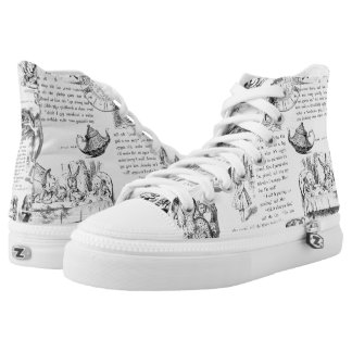 Alice in Wonderland shoes Printed Shoes