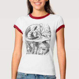 Alice in Wonderland Sir John Tenniel 1865 Hookah T-Shirt