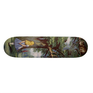 Alice in Wonderland SkakeBoard Pro Skateboard Decks