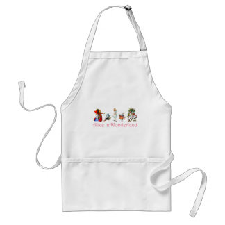 Alice in Wonderland Standard Apron
