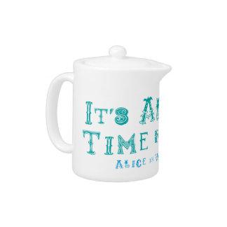 Alice In Wonderland Teapot Time for Tea