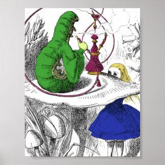Alice in Wonderland - The Caterpillar Posters