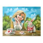 Alice in wonderland the white rabbit Gordon Bruce Postcards