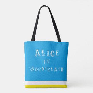 Alice In Wonderland Tote Shopper Bag
